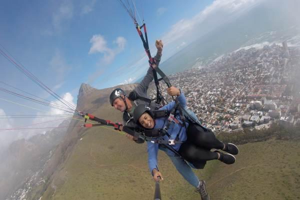 Tandem Paraglide - Cape Town