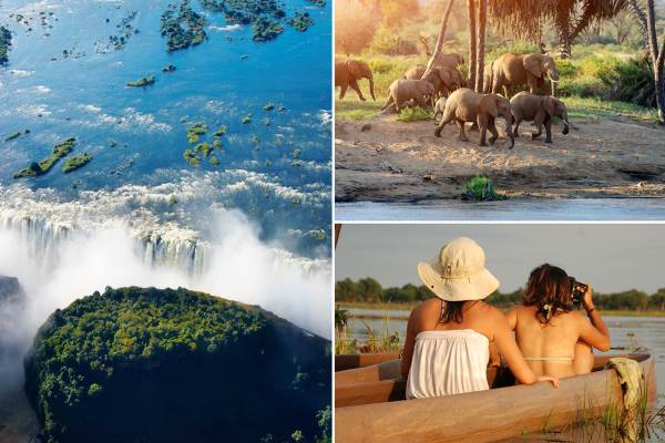 Windhoek to Botswana & Victoria Falls - Budget Tour