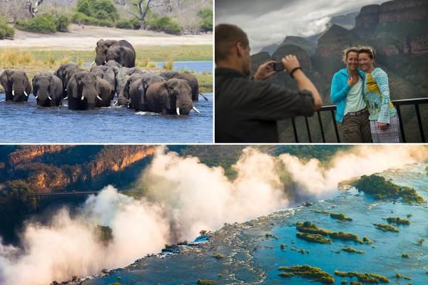 Cape Town to Victoria Falls & Mozambique Lodge Tour