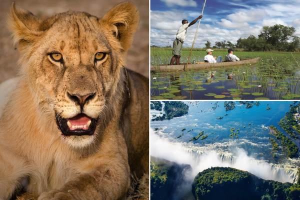 Windhoek to Victoria Falls Tour - Accommodated Package