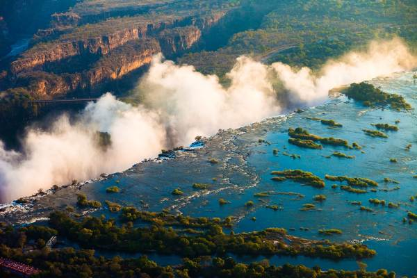 Victoria Falls to Cape Town, via Botswana - Lodge Tour