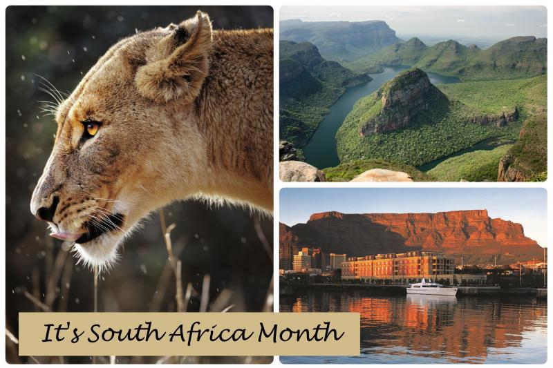 September 2019 - South Africa Month & Specials